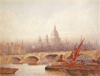 blackfriars bridge by frederick edward joseph goff