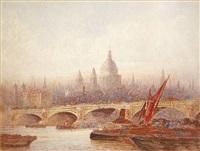 blackfriars bridge by frederick edward joseph goff