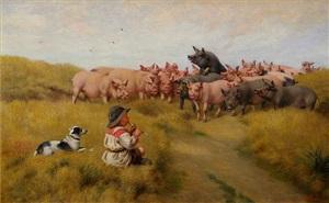 an appreciative audience by herbert william weekes