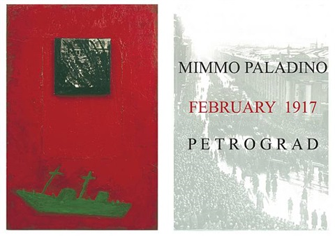 february 1917 by mimmo paladino