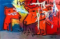 untitled (kurtis blow) by bjarne melgaard