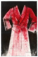 red etching robe by jim dine
