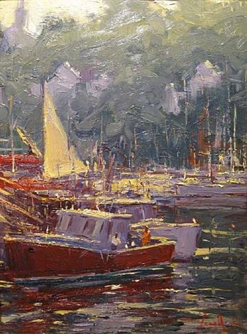 the red boat by george van hook
