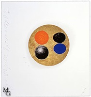 five objects, sept 10, 1999 by donald sultan
