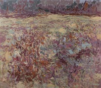 brittle october fields by alan gussow