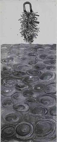 jingwei filling the ocean: each eddy has a key to it, 2008 by qiu zhijie