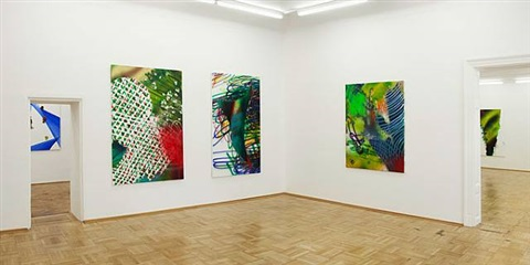 installation view by katharina grosse