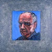 head (grey-speckled border) by peter heinemann
