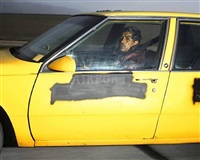 man heading south at 73 mph on interstate 5 near buttonwillow drive outside of bakersfield, california, at 5:36 p.m. on a tuesday in march 1992 by andrew bush