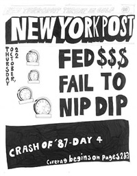 stock market: '87 crash fed $$$ fail to nip dip (22nd october 1987) by aleksandra mir