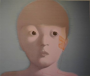 group show the face of the chinese avant-garde by zhang xiaogang