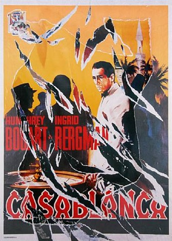 casablanca i by mimmo rotella