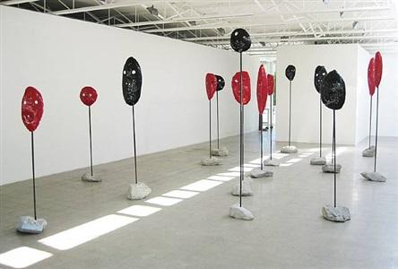 installation view by william j. o'brien