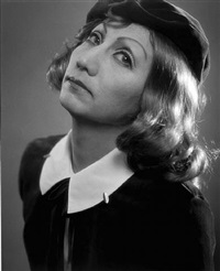 self-portrait - after greta garbo 2 by yasumasa morimura