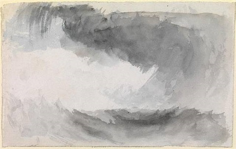 storm at sea by joseph mallord william turner