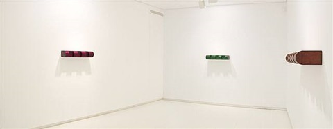 exhibition view by donald judd