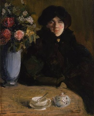 after tea by paul-albert besnard