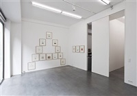 "installation view ""a – z"" by peter hutchinson"