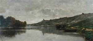 river landscape by charles françois daubigny