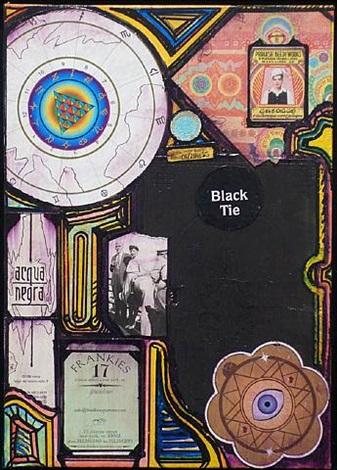 aqua negra / black tie by john evans