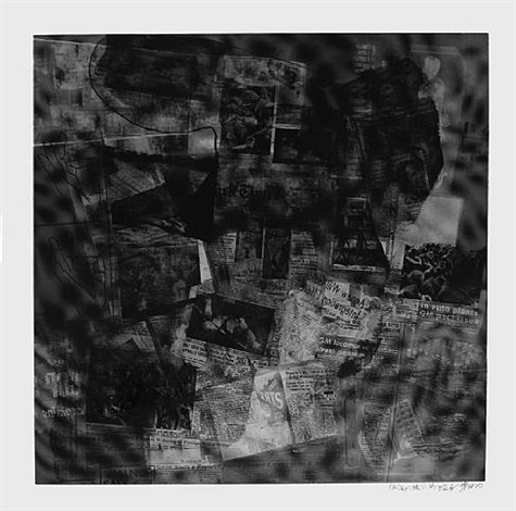surface, foster 112 by robert rauschenberg