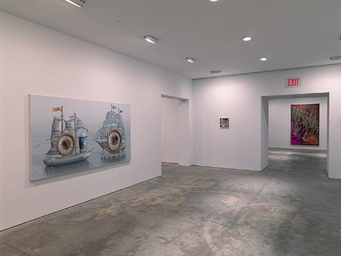 exhibition view by matthew weinstein