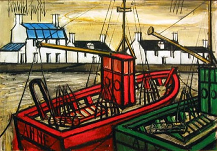 24th. annual exhibition 8 masterpieces from the 1990s by bernard buffet