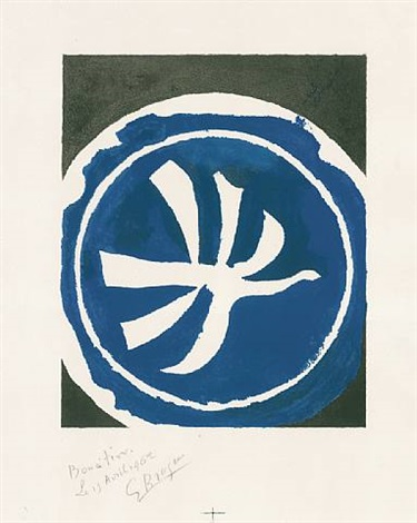 l´oiseau blanc by georges braque