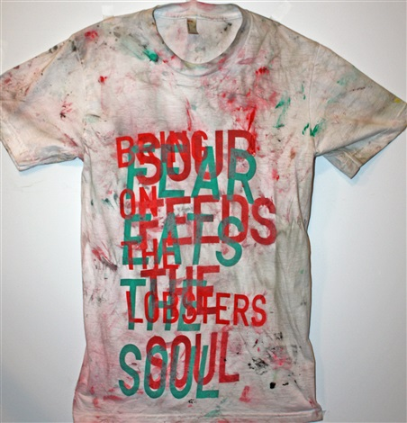 untitled dir tee by rirkrit tiravanija