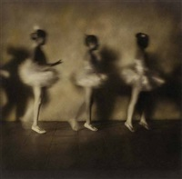 three ballerinas, oaxaca by jack spencer