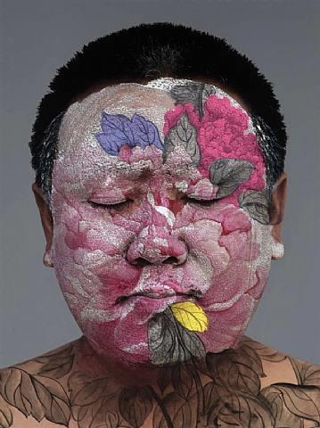 self portrait by huang yan