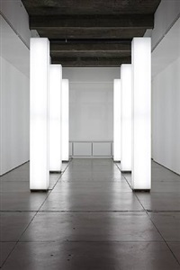 light installation by simon ungers