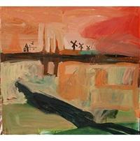 van gogh contempla su cuadro desde la colina by alejandro campíns