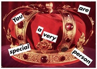 untitled (you are a very special person) by barbara kruger
