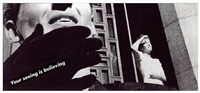 untitled (your seeing is believing) by barbara kruger