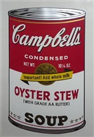 cambell's soup ii - oyster stew by andy warhol