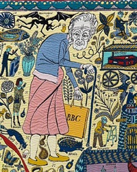 the walthamstow tapestry (detail) by grayson perry