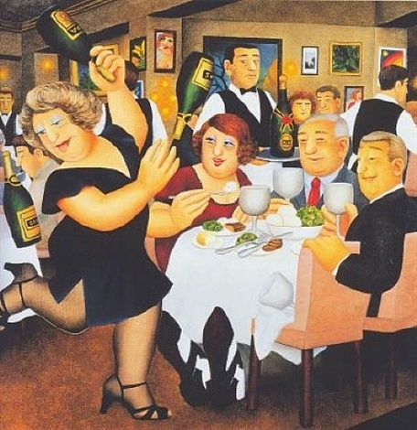dining out by beryl cook