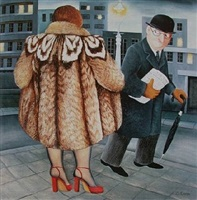 my fur coat by beryl cook