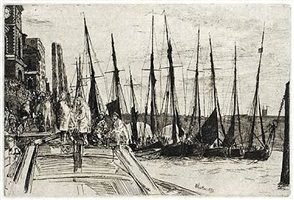 billingsgate by james abbott mcneill whistler