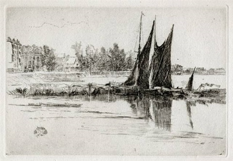 hurlingham by james abbott mcneill whistler