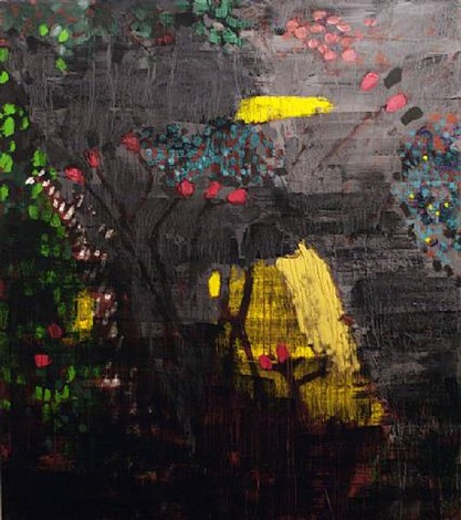 grey garden, son caragol by bruce mclean