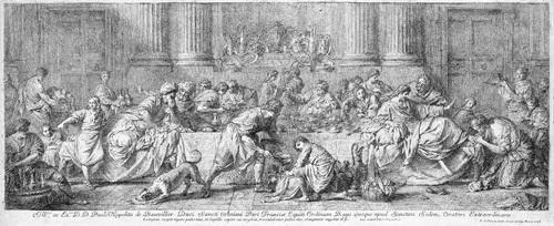 christus und die sünderin im hause des pharisäers simon by pierre hubert subleyras