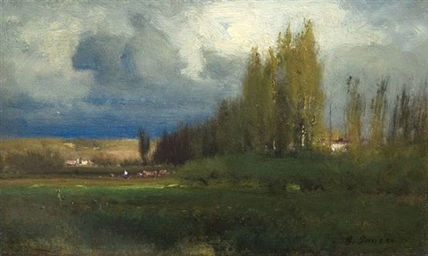 landscape study by george inness