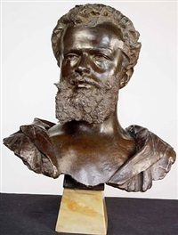 the bust of frederic lord leighton by giovanni battista amendola