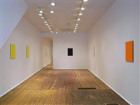 installation view of front room - from right: <u>counter</u>, <u>apt</u>, <u>script<font color=ffffff> s</font></u> [visibility through doorway] <u>studio</u>, and <u>doing</u> by tom benson
