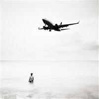 jet airliner #11, maho beach, st. maarten by josef hoflehner