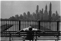 brooklyn promenade by louis stettner
