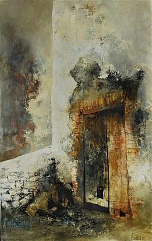 le porte ebranlee by jean jansem