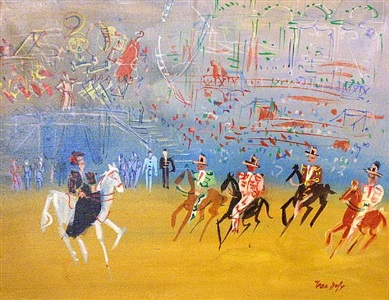 gallerys inventory of french post-impressionists by jean dufy
